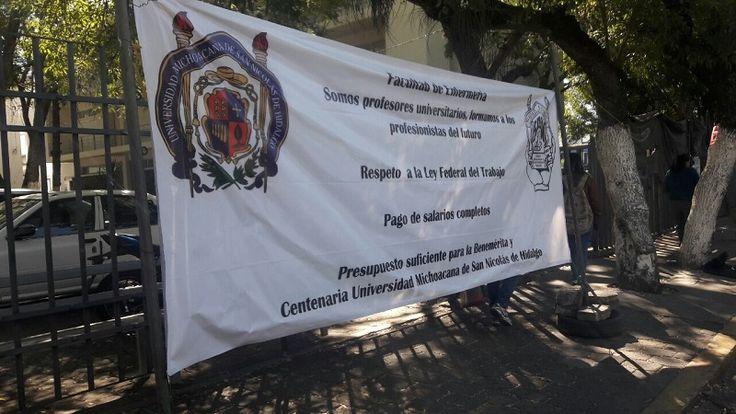 Lo anterior se da tras el acuerdo al que llegó el Consejo General del gremio sindical el pasado día 15 de noviembre, luego de que la UMSNH incumplió con el ...