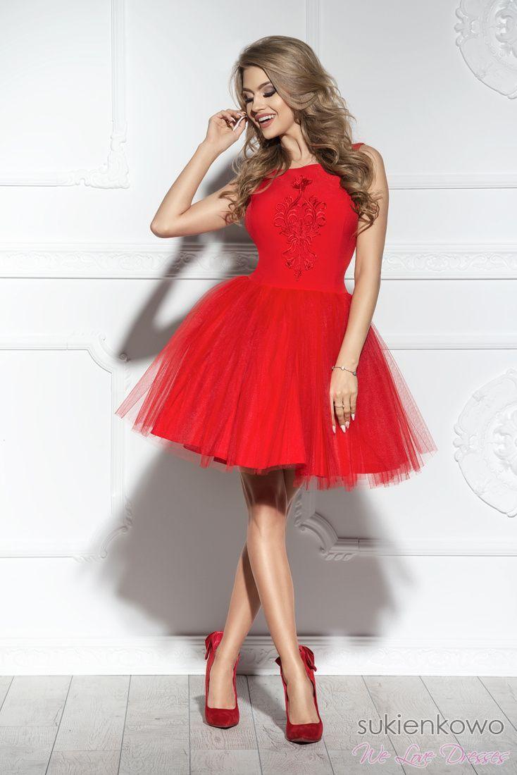 Sukienkowo Butik Online Sherri Dresses Red Formal Dress Formal Dresses