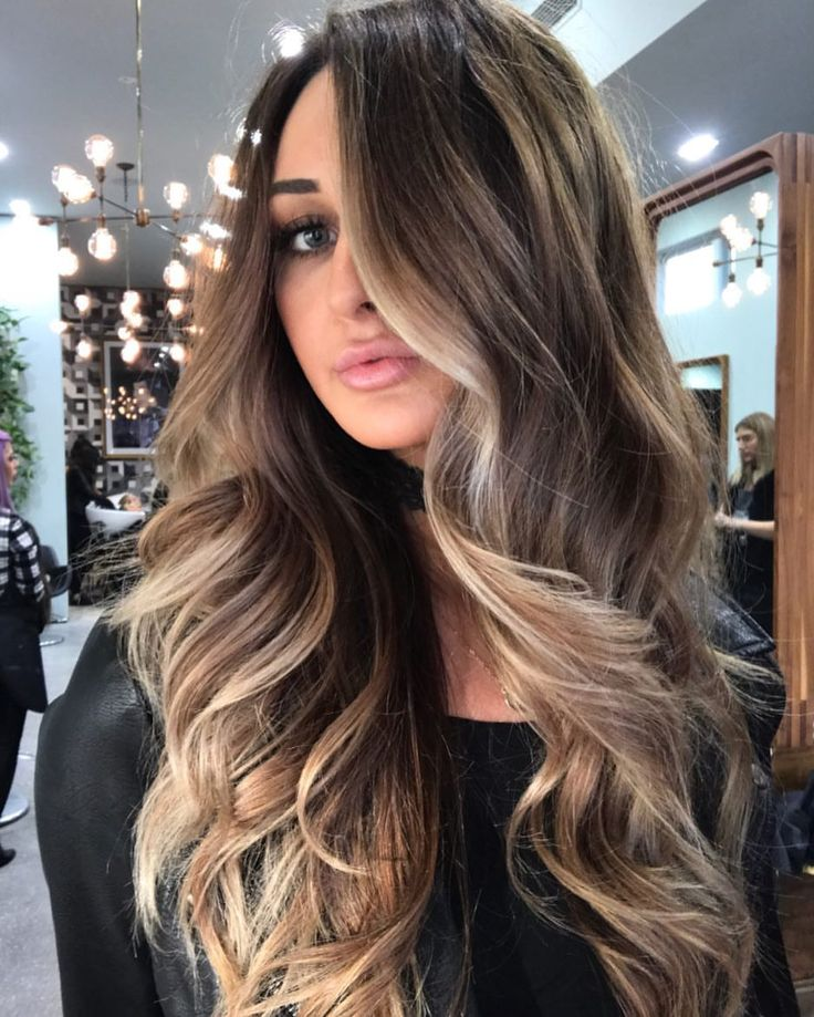 painted balayage