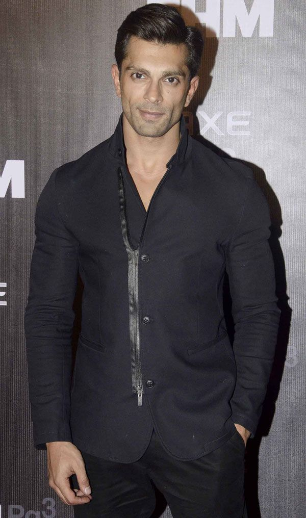 Karan Singh Grover at the FHM 'Bachelor of the Year 2014' awards. #Bollywood #Fashion #Style #Handsome