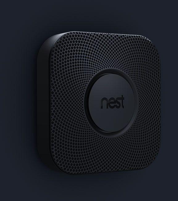 Nest smoke detector | Controlled and monitored by an IOS app