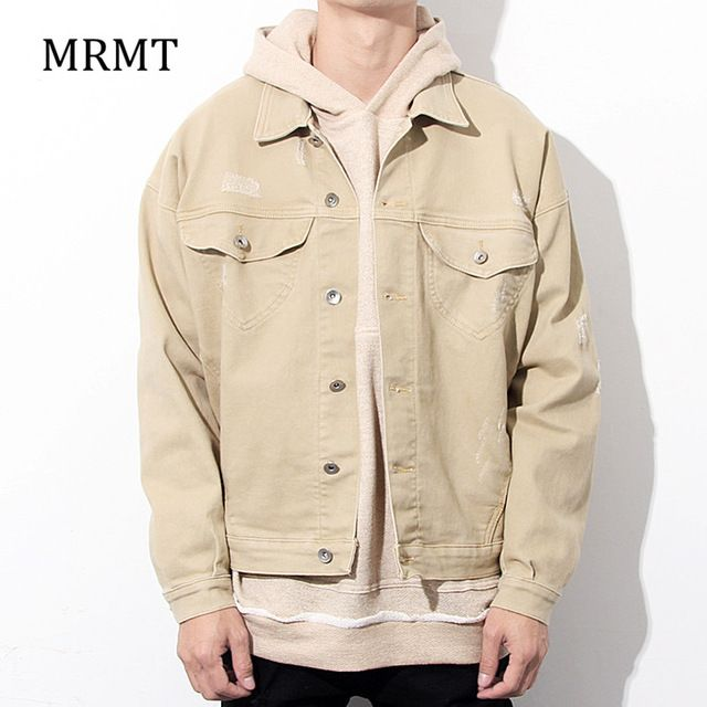 Check lastest price the high street popular logo big talker BEIGE hanging shoulder loose fleece hoodies male thin render coat just only $26.51 with free shipping worldwide  #hoodiessweatshirtsformen Plese click on picture to see our special price for you