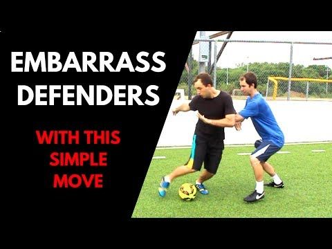 Embarrass and Destroy Defenders With This Easy SOCCER MOVE - YouTube