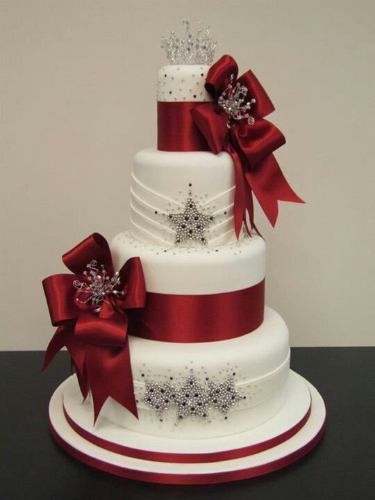red and white wedding cake designs 25 best ideas about wedding cakes on 19099