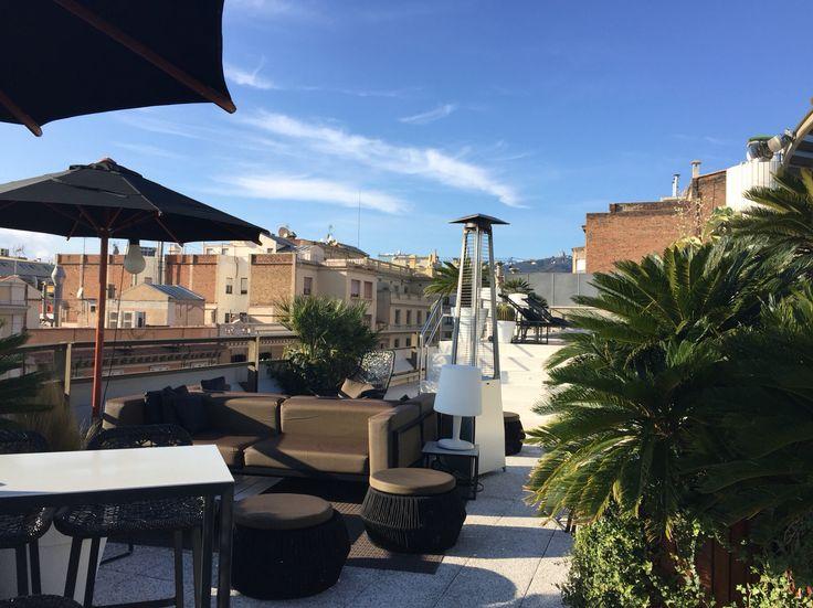 Hotel Claris Barcelona #claris #barcelona #5star #terrace