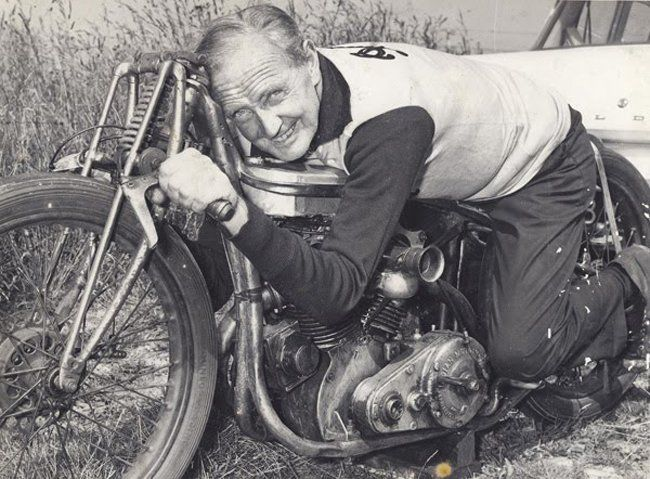 Burt Munro and the fastest Indian ever, one of my favorite mechanical heroes ever!