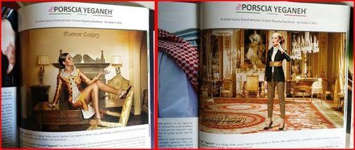 Dubai hard cover magazine