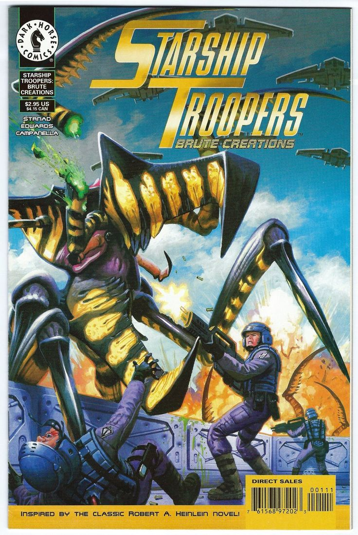 Robert Heinlein's Starship Troopers Brute Creations Issue #1 Strnad Edwards 1997 - Horror & Sci-Fi