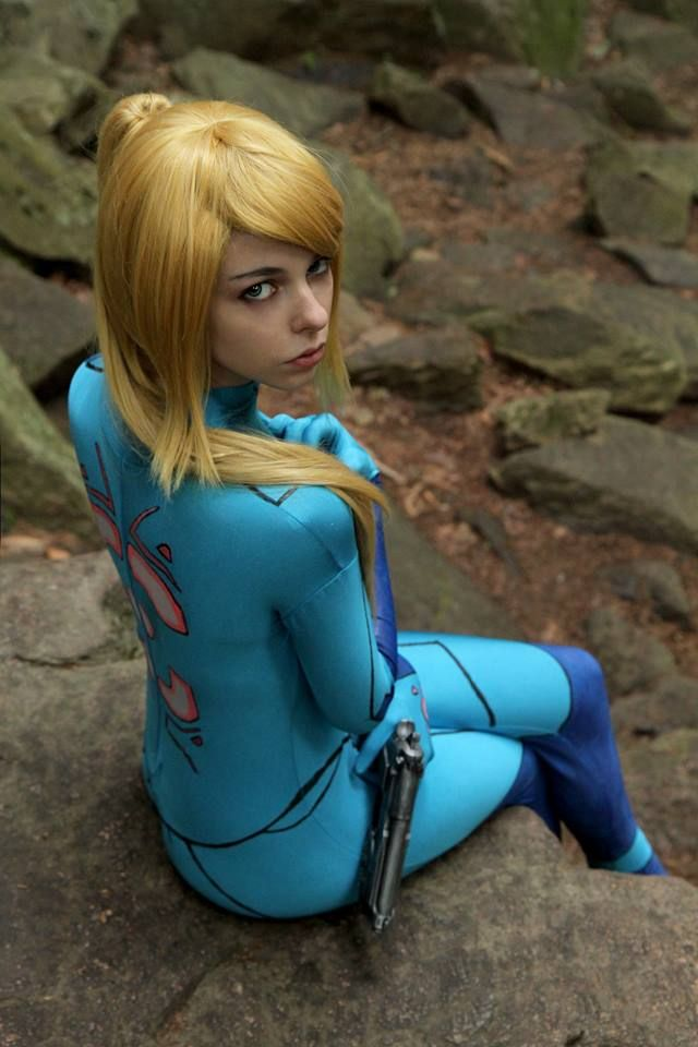 Sorry, that Samus Porn Cosplay thought