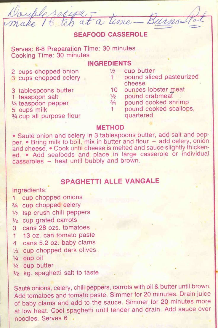 Cy's Seafood Restaurant Old Favorite Recipes - Page 5