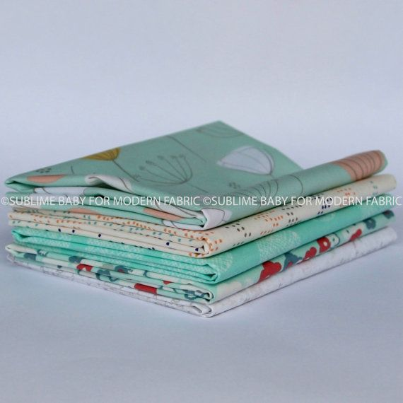 Buds and Buildings 2 Fat Quarter Bundle - Ships from New Zealand