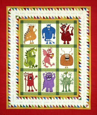 quilt patterns for children's quilts | Image - Pattern Front