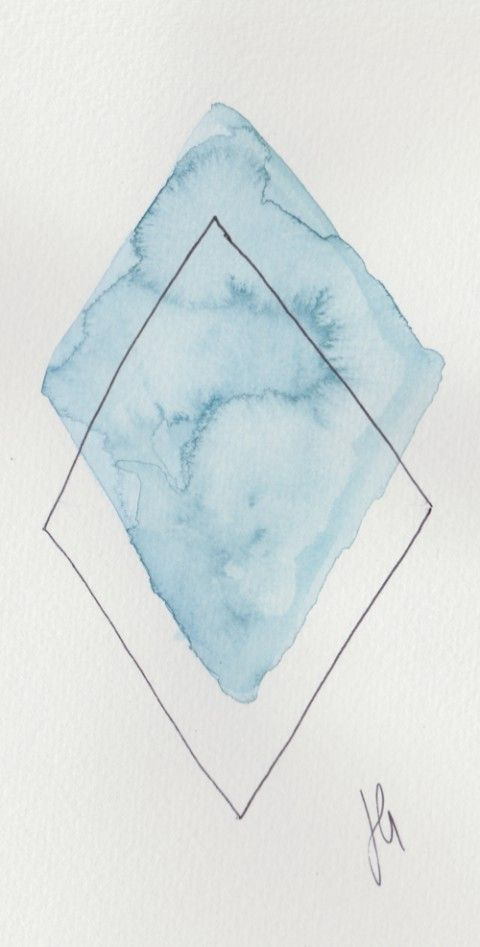 watercolor geometry logos - Google Search