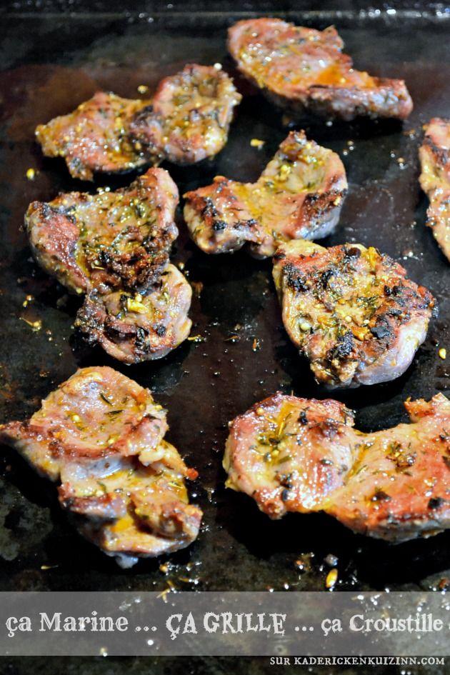 Joues porc - Recette cuisson plancha joues de porc d'épices cajun