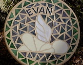 Angel Baby Memorial Stepping Stone