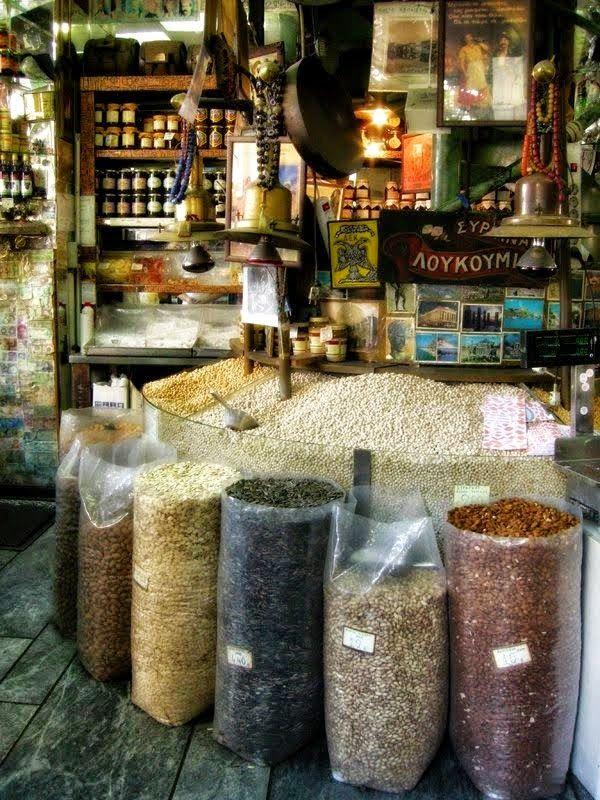 ΠΑΡΑΔΟΣΙΑΚΟ ΠΑΝΤΟΠΩΛΕΙΟ ΕΛΛΑΔΑ...Greek tradiotional grocery shop