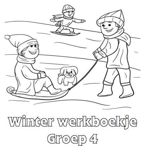 Winter Werkboekje Groep 4