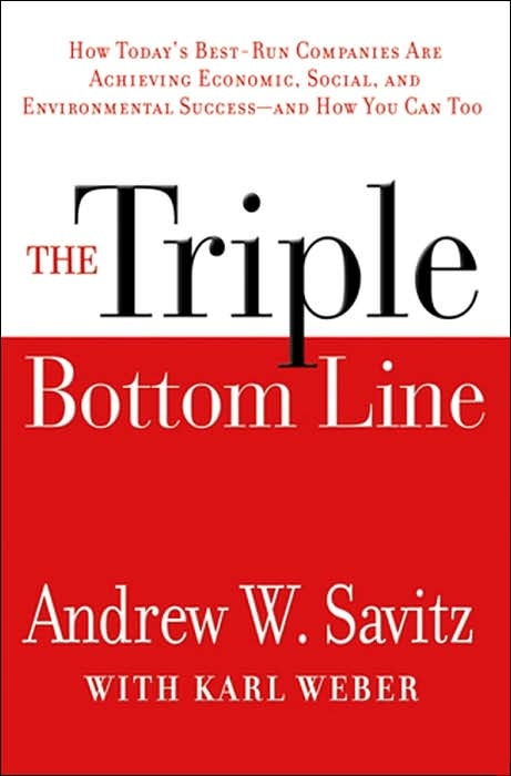 The Triple Bottom Line: Why Sustainability is Transforming the Best-Run Companies and How It Can Work for You