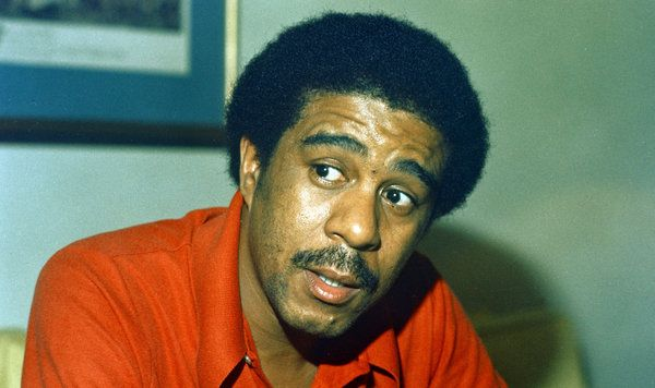 "Comedian Richard Pryor, pictured in 1977, grew up in a brothel, surrounded by violence. ""He said once that it's easier for him to talk about his life in front of 2,000 people than it is to do it one on one,"" says Scott Saul, whose new book is Becoming Richard Pryor."