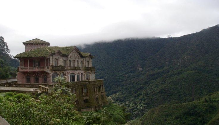 El Hotel El Salto: Un lugar embrujado en Colombia (FOTOS)
