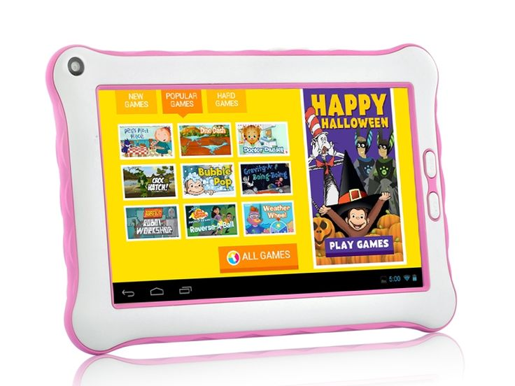 "Tablet 7"" Pink, parental controls, child friendly, powerful, Assistive Style  $125"