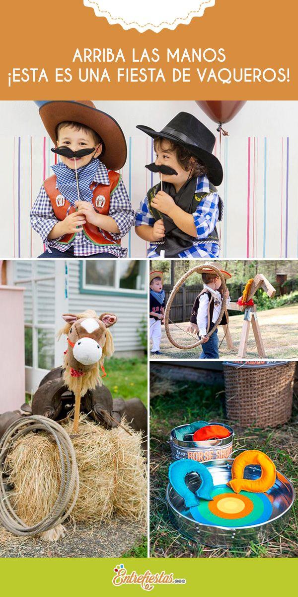 Has decidido hacer una fiesta temática de vaqueros para tu hijo o hija, tienes todo lo esencial pero… ¡faltan los juegos! Los pequeñitos deben divertirse a lo grande sintiendo que de verdad están en el Lejano Oeste. Prepárate porque las siguientes ideas harán que tu fiesta perdure en la memoria de los chiquillos.