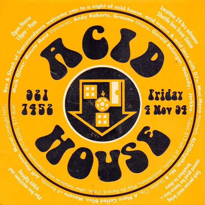 103 best rave flyers images on pinterest flyers acid for Acid house rave