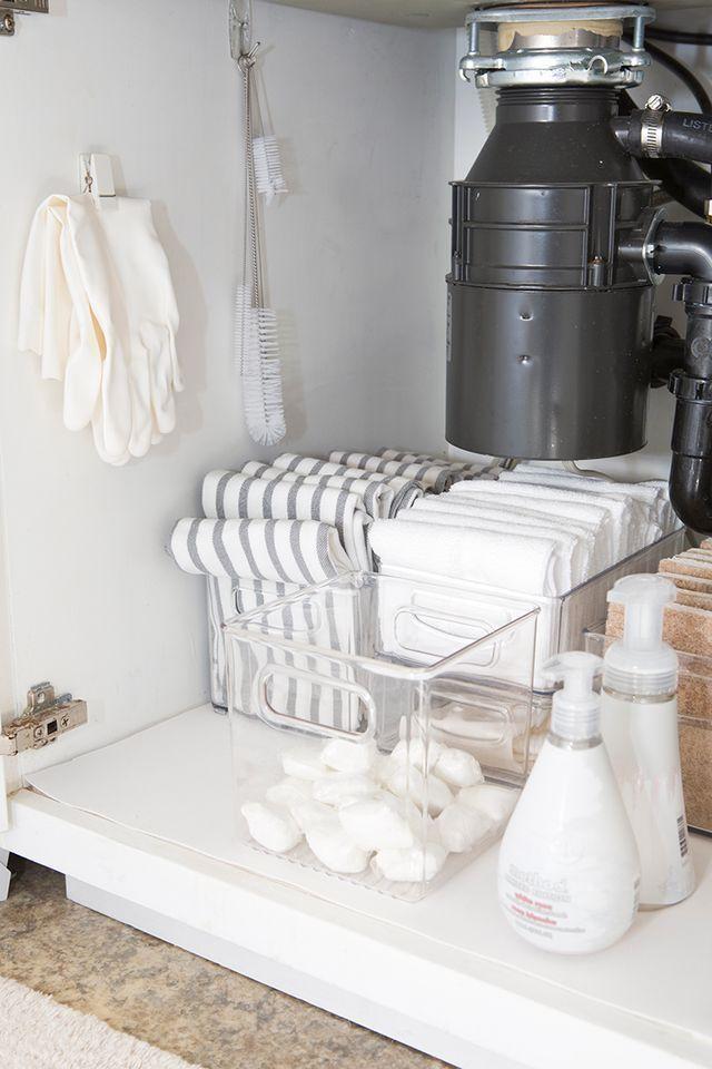 Zero Waste Kitchen Kitchen Sink Organization Minimalist Home