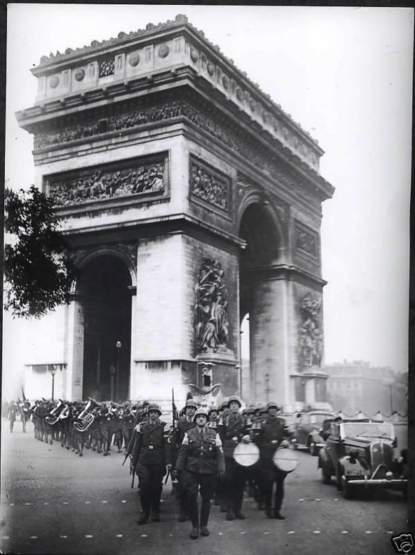 Germans in Paris.  1940.