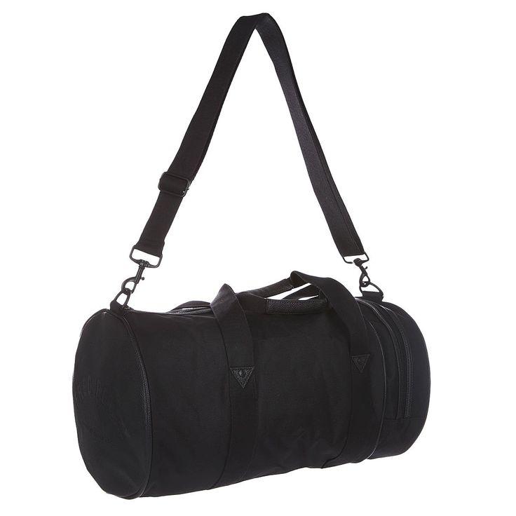 Сумка спортивная Fred Perry Nylon Barrel Bag Black