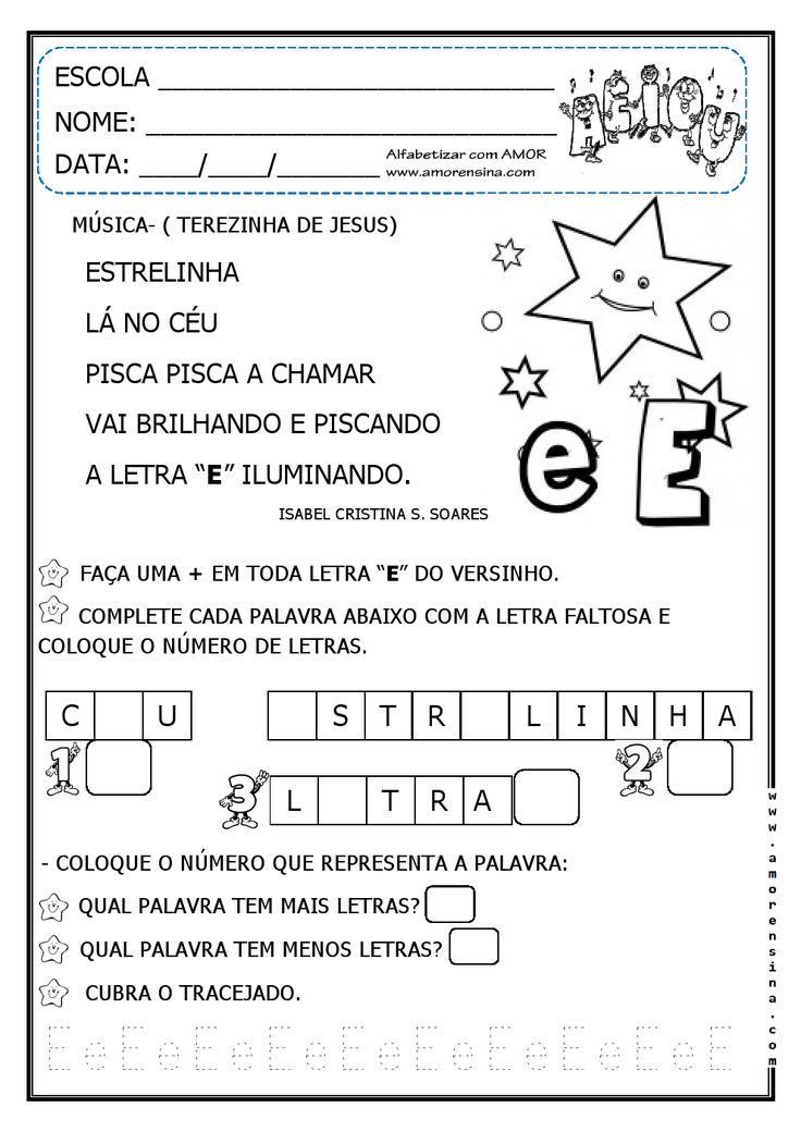 Alfabetizar com AMOR: Vogais