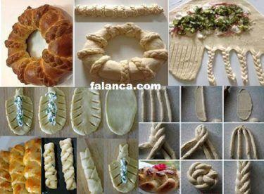 Örgü Poğaça Tarifi - #yemek #yemektarifleri #yemektarifi
