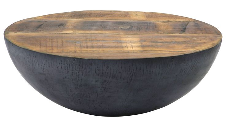 Salontafel Iron rond zwart II