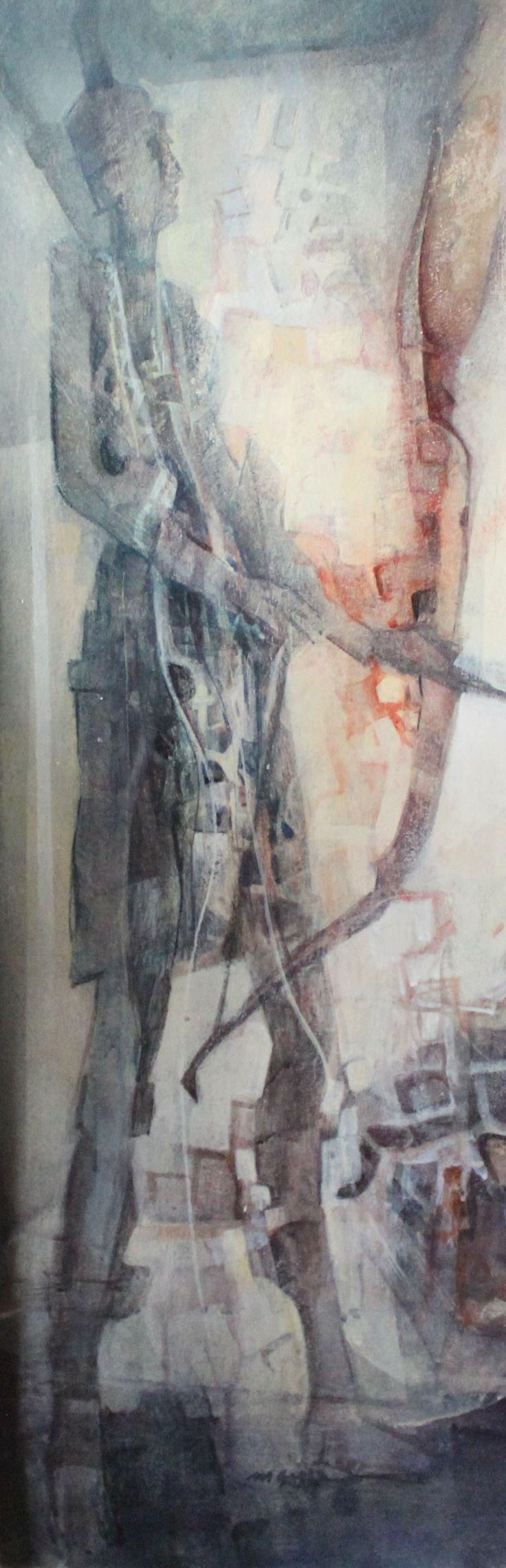 """""""Arciere"""" opera di Mario Gaspa."""