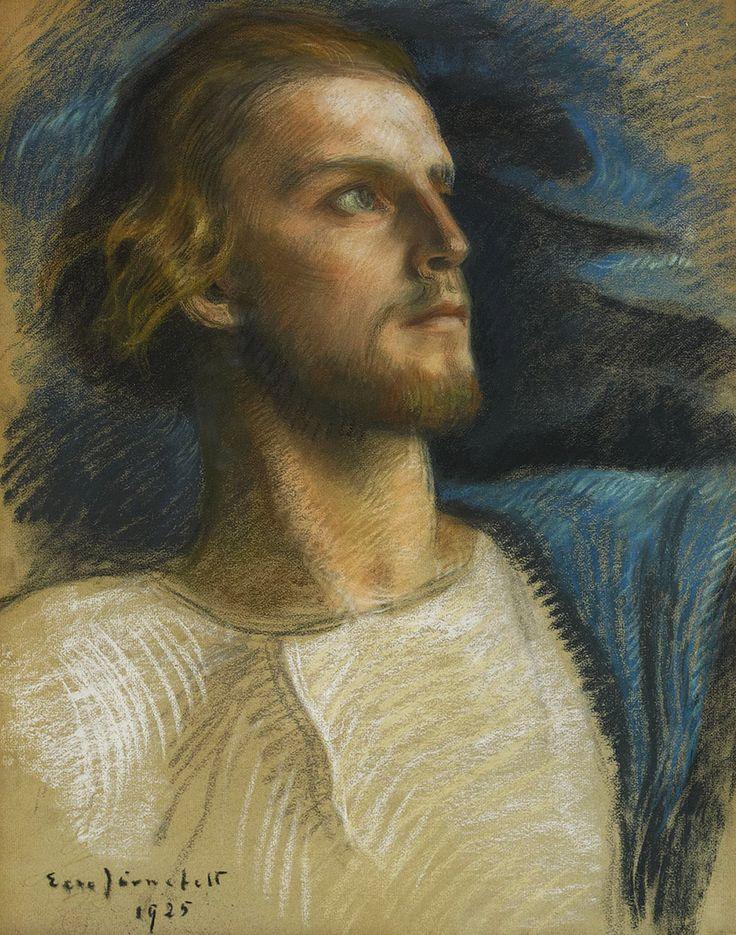 """Eero Järnefelt 1925 """"Jesus Christ"""""""