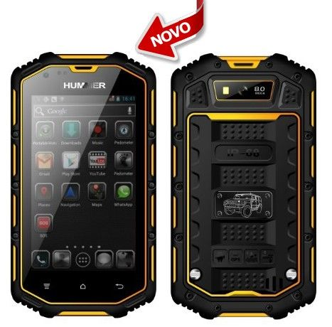 SmartPhone HUMMER Dual SIM (Resistente ao choque, água ...
