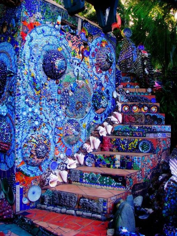 Best The Most Beautiful Painted Exterior Stairs In The Globe 400 x 300