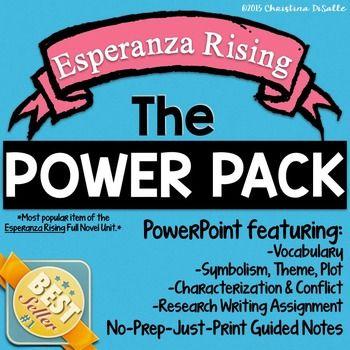47 best esperanza rising images on pinterest esperanza rising esperanza rising power pack guided notes ccuart Gallery