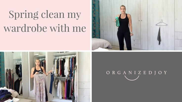 Episode 36 | Spring Clean my wardrobe with me – see how I do it & my approach | Organized Joy