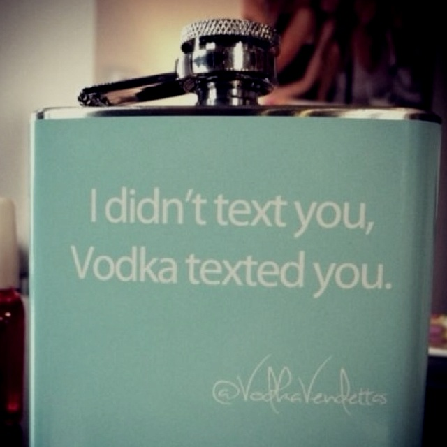 this is so true. If only vodka would own up to it