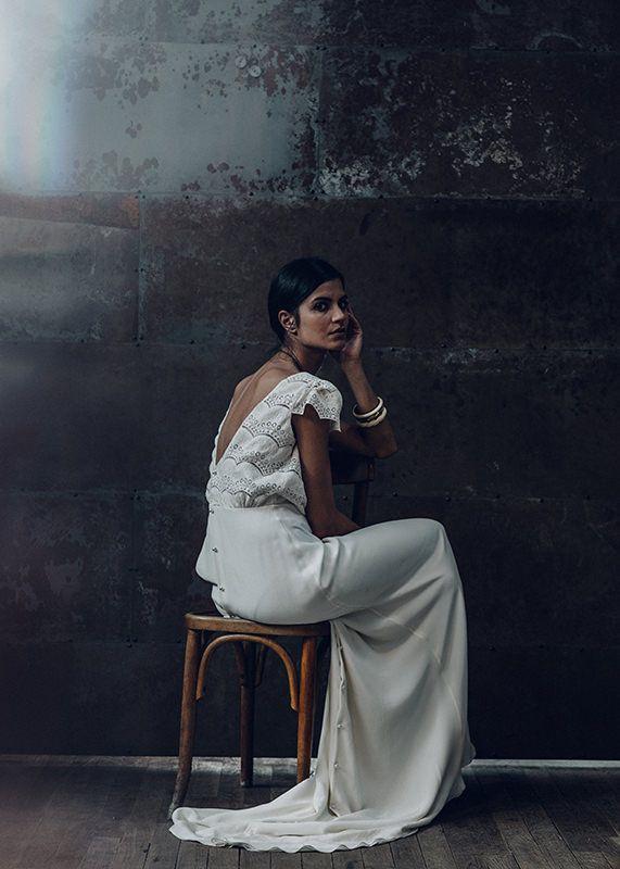 Collection Laure de Sagazan 2016- Robe Verlaine