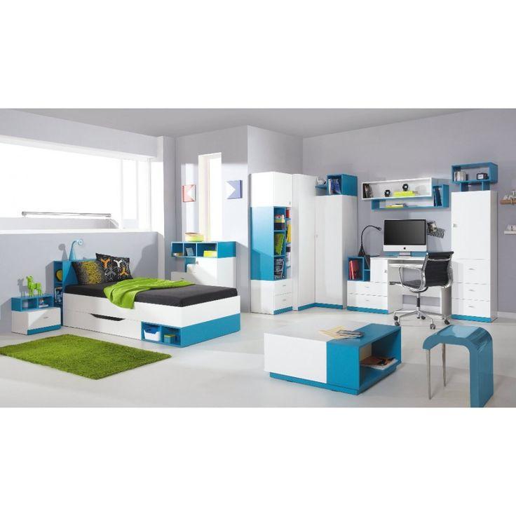 """.MOBI SYSTEM """"B"""" ELEMES IFJÚSÁGI SZEKRÉNYSOR-Bútor, Robi Bútor Nagykereskedés Webáruház - bútor, akciós bútor, konyhabútor, bababútor, szekrénysor, sarokgarnitúra, kanapé, ülogarnitúra, hálószoba bútor"""