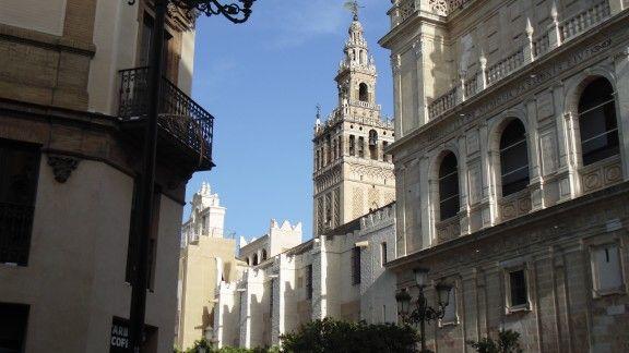 Giralda em Sevilla
