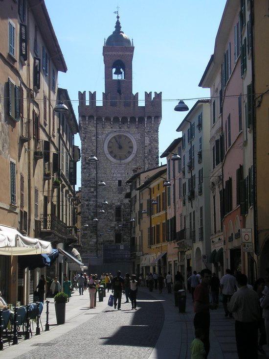 Brescia, La Pallata Tower - Torre della Pallata