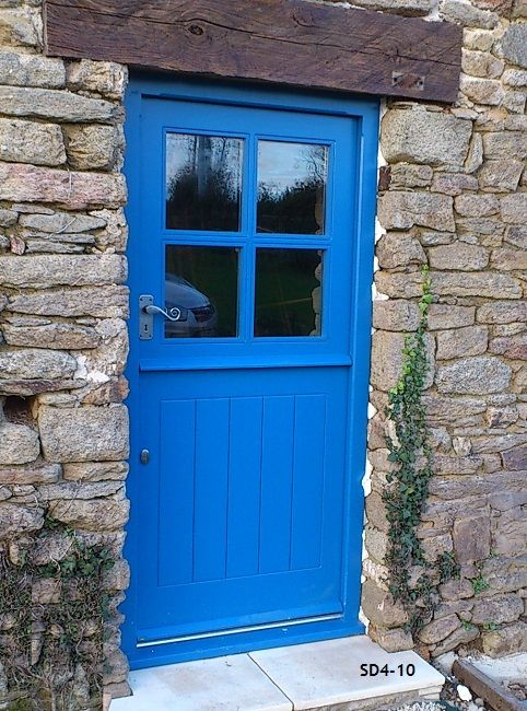 capri blue stable door