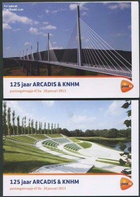 125 Years Arcadis & KNHM presentation pack 473a+b