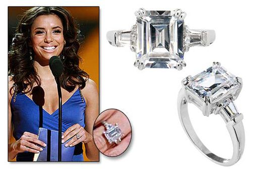 Celebrity Engagement Rings Replica 47