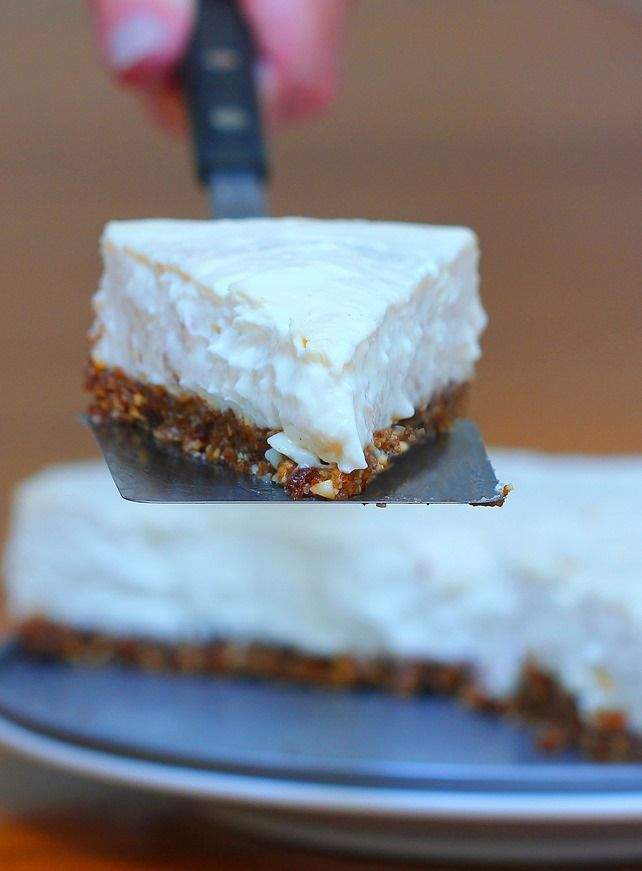 Light and creamy healthy cheesecake recipe