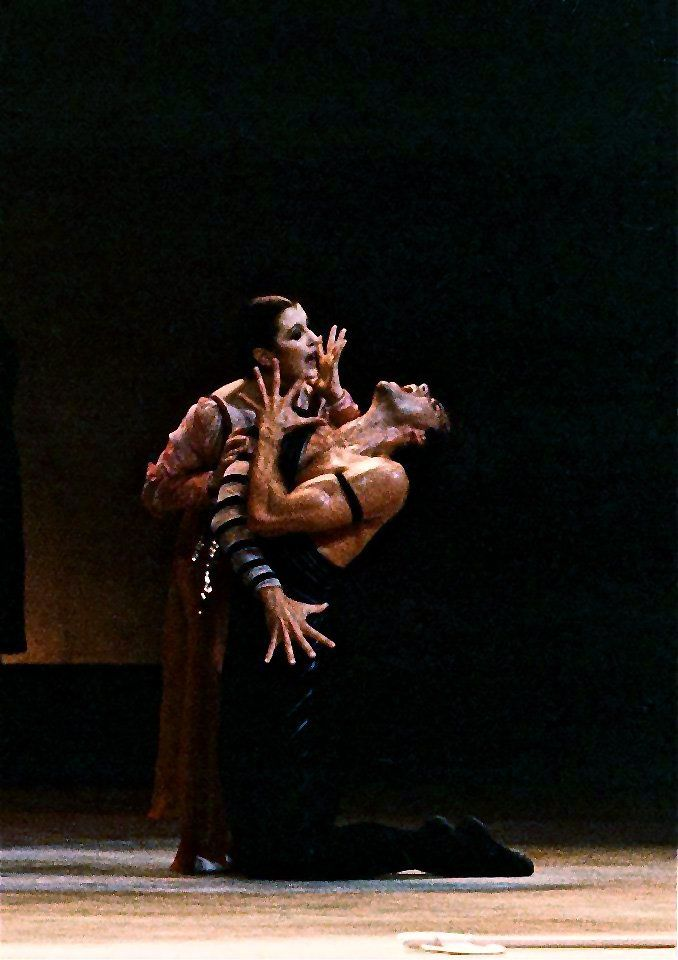 Paul Chalmer answers the Gramilano Questionnaire… Dancers' Edition - Paul Chalmer with Carla Fracci in Fedra – Teatro Massimo, Palermo