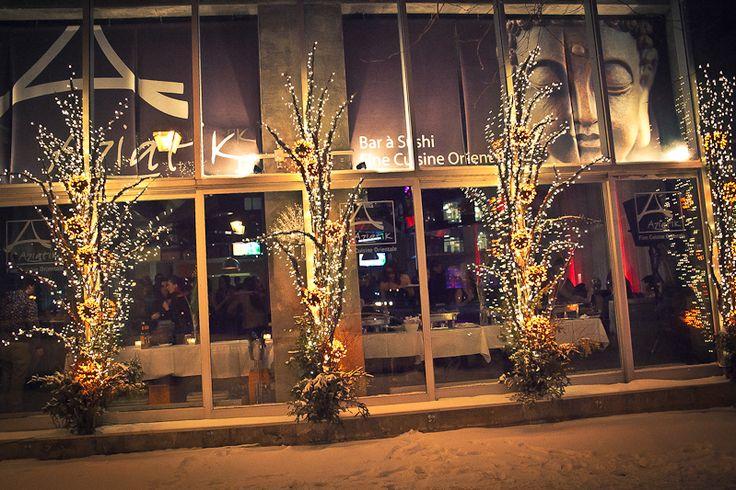 Une soirée masquée festive et sexy @ Restaurant Aziatik – photos   Montreal.TV